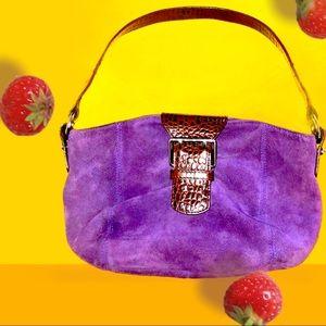 Lauren Ralph Lauren purple mini bag.
